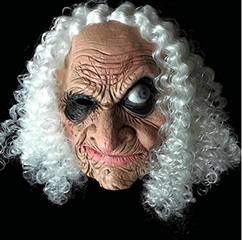 FIREWSJ Halloween Maske Halloween Maske Long Nose Horror Latex Hexe Maske Goblin Festival Kostüm Party Knifflige Rollenspiele Requisiten Terror - Kleinkind Goblin Kostüm