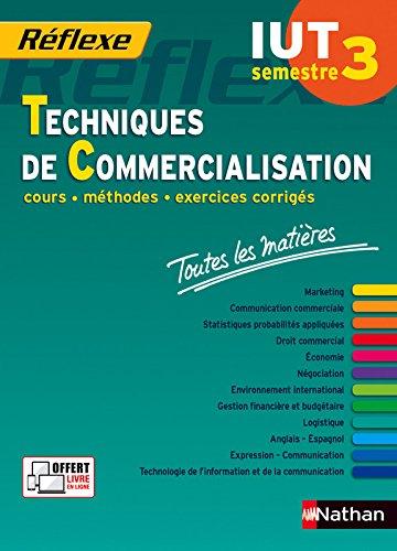 Toutes les matires IUT Techniques de Commercialisation  Semestre 3