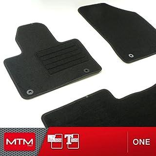 MDM Fussmatten C5 Tourer (X7) ab 2008- Passform wie Original aus Velours, Automatten mit Absatzschoner aus Textile, Rand rutschhemmender, cod. One 633