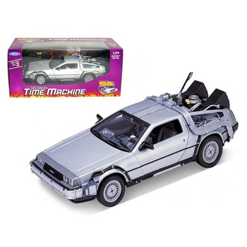 Back to the Future DeLorean Time Machine Die-Cast Vehicle by Welly