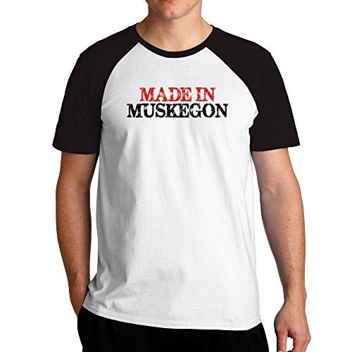 Eddany Made in Muskegon Raglan T-Shirt