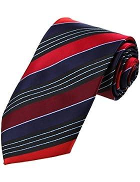 DAA7A.05 Contento Rayas microfibra corbata para Marido corbata Por Dan Smith