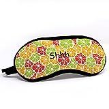#7: Indigifts Designer Sleep Mask Colorful Fruit Pattern Multi Eye Mask 7.8X3.3 inches - Quirky Sleep Eye Mask, Printed Sleeping Eye Mask for Men-Women