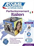 Superpack Perfectionnement Italien (livre+4CD audio+1CD mp3)