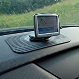 100% High Quality Essential Anti Slip Board Non Stick Mount Holder Car Sat-Nav GPS Rubber Mat Black for Tomtom Navman
