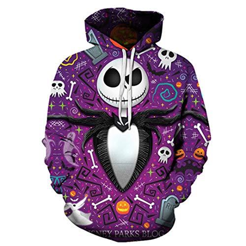 oodies Sweatshirts 3D Hoodie Unisextracksuit Herren Pullover Herbst Tuch Lustige MäNtel XXXL ()