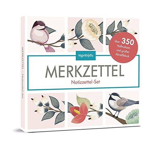 Eule Buch Set Kleine (Merkzettel: Notizzettel-Set (monbijou))