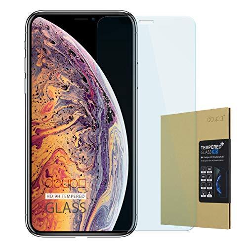 doupi Pellicola Protettiva per iPhone XS Max (iPhone 10s Max) 6,5 Pollici, Premium 9H Vetro temperato HD Protezione dello Schermo Tempered Glass