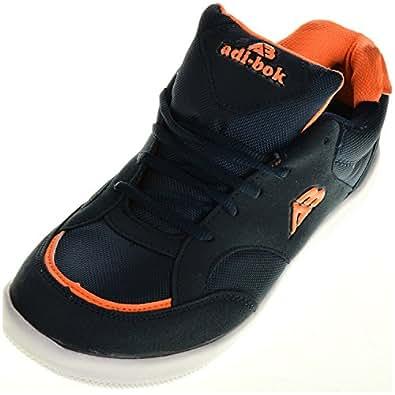 Adi Bok Men's Blue Synthetic Foam Running Shoes ,10 UK