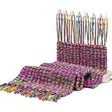 Maquina tejedora bufandas cuellos cojines ganchillo crochet de OPEN BUY