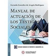 Manual de actuación de los testigos sociales (AUDITORÍA)