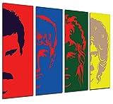 Quadro su Legno, Queen, Freddie Mercury, 131 x 62cm, Stampa in qualita Fotografica. Ref. 26251