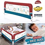 R for Rabbit Safeguard Bed Rails Baby Safety-Single Side Anti Fall Bed Railing