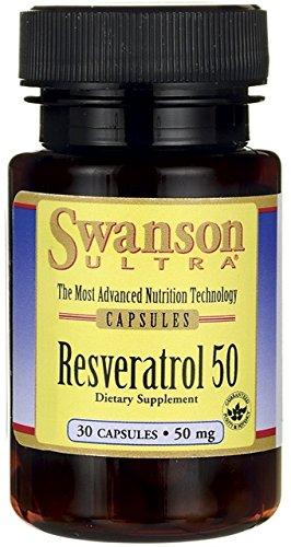 Resveratrol 50, 50mg - 30 caps (30 Mg 50 Caps)