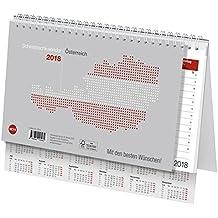 Schreibtischkalender Österreich groß - Kalender 2018