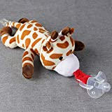 HSDDA Bébé jouet de poupée sucette Clip éléphant Peluche poupée