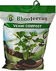 Bhoo jeevan - Vermicompost 5 Kg (Brown)
