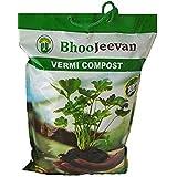 Bhoo jeevan - Vermicompost 5 Kg (Brown)