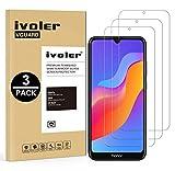 VGUARD [3 Pack] Pellicola Vetro Temperato per Huawei Honor 8A / Huawei Y6 2019 / Huawei Y6 PRO 2019 [Garanzia a Vita], Pellicola Protettiva, Protezione per Schermo