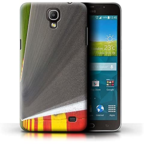 Carcasa/Funda STUFF4 dura para el Samsung Galaxy Mega 2 / serie: Pista Carreras Foto - Asfalto/Tarmac