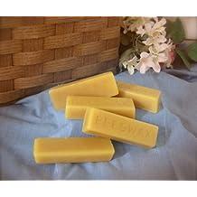 Cire d'abeille Bio (5 tablettes de 30g chacune) - 100% bio -idéal pour la confection de vos cosmétiques, baumes à lèvres , et bougies - cire de très haute qualité - filtré 3 fois