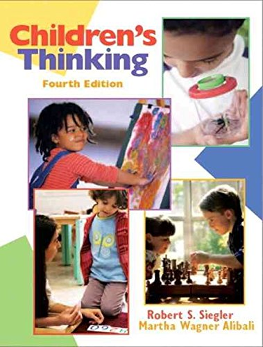 [Childrens Thinking] (By: Robert S. Siegler) [published: June, 2004]