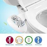 Bidet,WC Bidet, YECO Dusch-WC für Intimpflege mit Reinigungsfunktion, Selbstreinigung Single Düse 2 funktioniert zu Hot und Cold Süßwasser