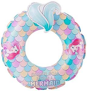 Disney Princess Ariel - Anillo de natación Inflable para Exteriores, Flotador de Piscina, Juguete de Playa para Verano para niños, Multicolor