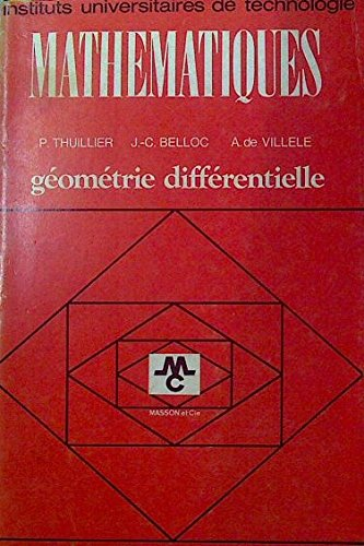 Mathématiques : Géométrie différentielle