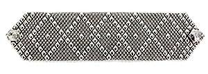 Argento antico braccialetto b10-as SG Liquid metallo da Sergio Gutierrez–3taglie–SG custodia e panno per la pulizia inclusi, argento-placcato-base, colore: Silver, cod. B10-AS