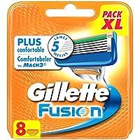 Gillette Fusion Lames De Rasoir Pour Homme - 8Recharges