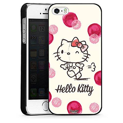 DeinDesign Hülle kompatibel mit Apple iPhone 5s Handyhülle Case Hello Kitty Fanartikel Merchandise Fan Article Merchandise