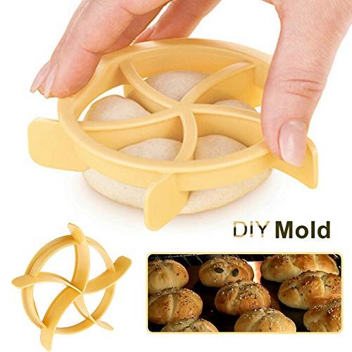 CFPacrobaticS Fan Blade Design DIY Dessert Cookies Brot Gebäck Kuchenform Küche Backwerkzeug Gelb