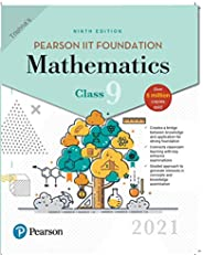 Pearson IIT Foundation Mathematics| Class 9| 2021 Edition| By Pearson