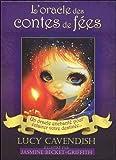 L'oracle des contes de fées : Un oracle enchanté pour éclairer votre destinée. Contient 1 livre et 44 cartes