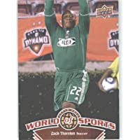 2010 Upper Deck World of Sports Trading Card # 67 Zach Thornton / Soccer Cards / Chivas / In a screw down