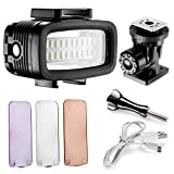 Neewer 700LM Flash LED Regulable Impermeable 40m Bajo el...