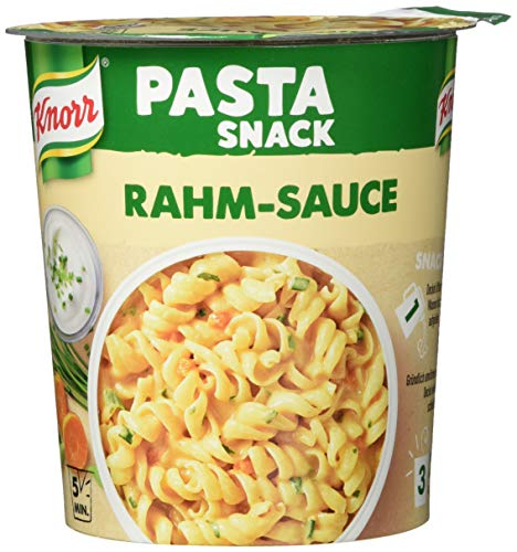 Knorr Snack Bar Pasta Snack Rahm-Sauce 1 Portion (8 x 69 g)