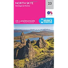 North Skye, Dunvegan & Portree 1 : 50 000 (OS Landranger Map)