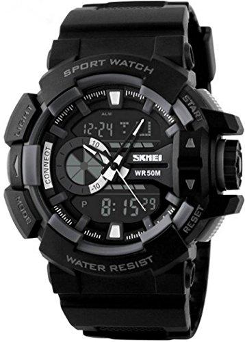 512ZrtnClDL - Skmei 1117BBGREY Digital Multi Colour watch