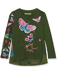 Desigual - TS_WHITEHORSE, T-shirt per bambine e ragazze