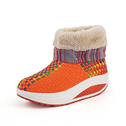 XTIAN , Baskets pour femme Orange
