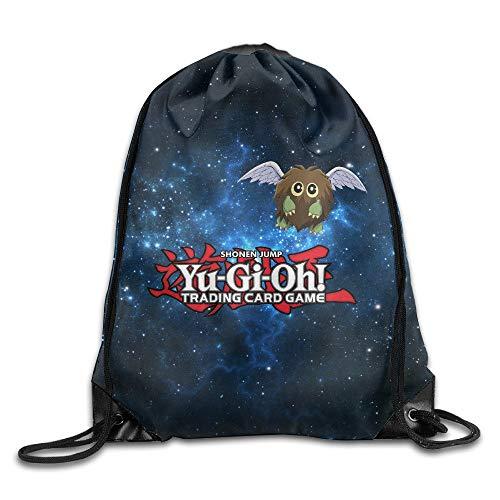 HLKPE Creative Design Yu Gi Oh! Winged Kuriboh Drawstring Backpack Sport Bag for Men and Women Jordan Womens Sweatshirt