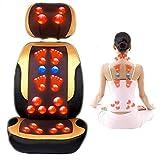 AMYMGLL Nacken- und Rückenmassage Stuhl Multifunktions-Elektro-Hausmassagekissen Heizung Massagestuhl Massage Männer und Frauen kneten