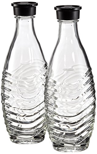 Sodastream Glaskaraffe DuoPack, Glas, 2 x 0,6 L -