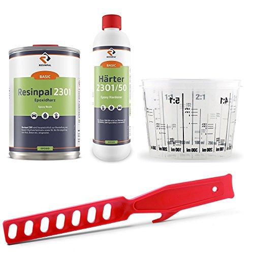 Epoxidharz-Set: Resinpal, 1,5kg