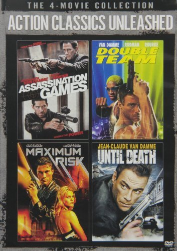 Action Classics Unleashed: The 4-Movie Collection (Assassination Games / Double Team / Maximum Risk / Until Death)