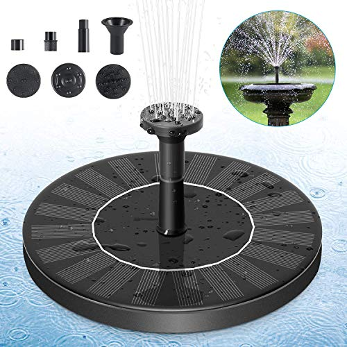 Garden Supplies H Floating Solar Power Fountain Panel Kit Garden Water Pump For Birdbath Pool Watering Wide Irrigation Pumps Neither Too Hard Nor Too Soft Sensible Hot 7v 1.4w 200l Home & Garden