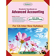 Padhuka's Students Handbook on Advanced Accounting Group II: for CA Inter New Syllabus