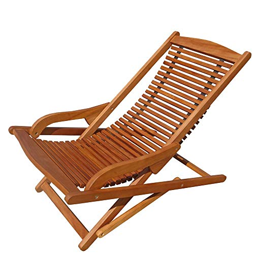 Indoba Relax Set Hochwertiger Gartenstuhl Klappbar Liegestuhl Holz Holzstuhl Garten Terasse Balkon